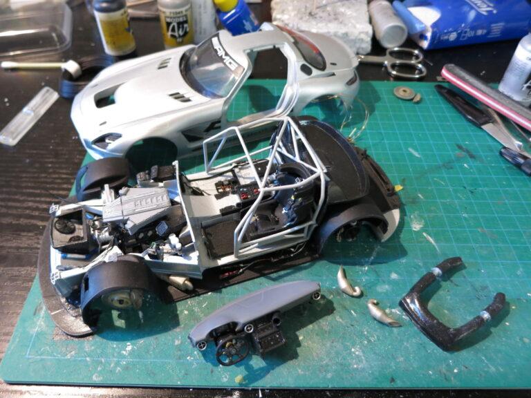 SLS GT3 – PART 16 – Body Assembly